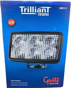 Grote 63611 5 Trilliant Mini Led Work Light Flood Lamp 12v 700 Lumens