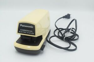 Vintage Panasonic As 300n Commercial Electric Automatic Stapler Works