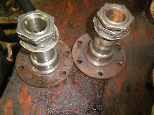 Willys Jeep Truck Front Axle Spindle Hubs And Nuts 1950 s