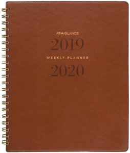 At a glance 2019 2020 Academic Year Weekly Monthly Planner Large 8 1 2 X 11