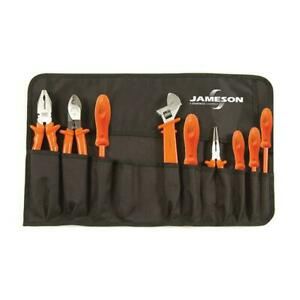 Jameson Insulated Tool Set 1000 Volt General Purpose Electrical Tools 9 Piece
