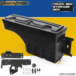 Passenger Right Side Truck Bed Storage Box Toolbox For 2005 2020 Toyota Tacoma