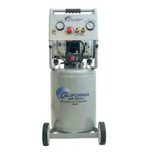 Air Compressor Electric Portable Oil free Vertical Steel Single Stage 10 Gal