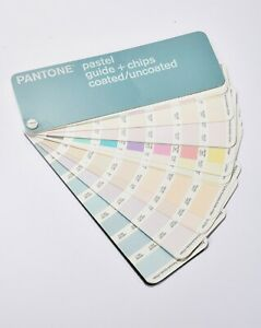 Pantone Pastel Guide Chips Coated uncoated