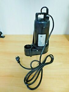 Submersible Pump 1 2 Hp 120 Amp Rating 120 V 62436977