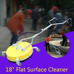 High Pressure Washer Driveway 18 In Surface Cleaner Wash Concrete Cleaner