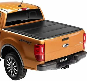 Tonneau Cover For 04 19 Ford F150 Truck 5 5ft Short Bed Lock Hard Solid Tri Fold