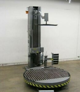Liberty 7 70 Automatic Pallet Stretch Wrapper With 80 dia Roller Turntable