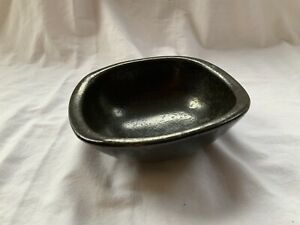 "Roseville Raymor Black Artware 8"" Bowl 28 8"" Ben Seibel"