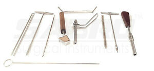 Orthopedic 6 5mm Cannulated Screw Instrument Set Of 10 For Trauma Free Shipping