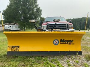 Meyer Hydraulic Snow Plow Lp 8 0 Lot Pro Like New Not Sure Its Been Used