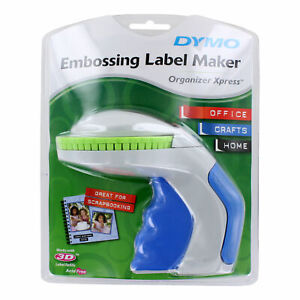 Dymo 12965 Organizer Xpress Embossing Label Maker With 3 8 X 144 Tape
