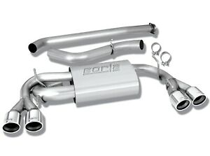 Borla 140312 Cat back Exhaust For 08 14 Subaru Impreza Wrx Sti 2 5l 4 Cyl Turbo