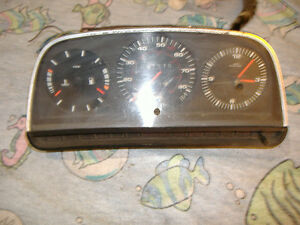 Audi 5000 Instrument Cluster 80 83 Yr For Parts 433 919 035