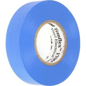 Electrical Tape Blue 3 4 x 66 1 Roll