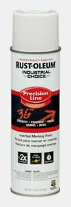 Rust oleum White Industrial Choice Precision Line Field Marking 17 Oz 203030