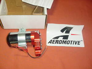 Aeromotive Hi Perf Electric Fuel Pump 11203 Chevy 55 72 Truck Mopar Ford Rat Rod