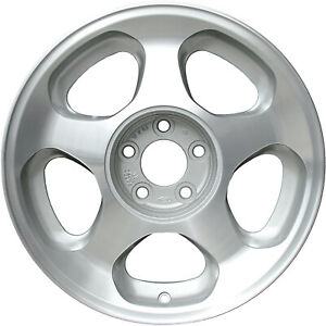 03173 Refinished 17in Aluminum Wheel 1996 1997 Ford Mustang W center Cap Notch