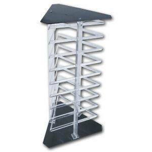 Earring Display Stand Jewelry Rotating Rack Hold 108 Earring Cards Holder Stand