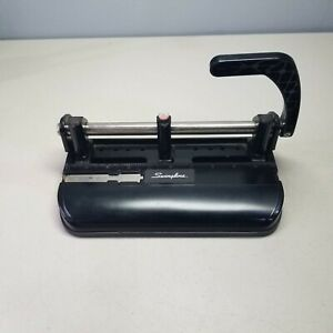 Swingline Model 350 400 Heavy Duty 2 3 4 5 6 Or 7 Hole Punch Metal Adjustable