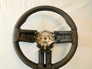 2010 2014 Ford Mustang Shelby Gt500 Steering Wheel Leather Alcant Oem Cr3z3600ab