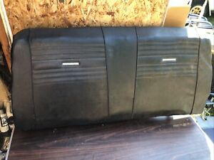 1966 1967 Chevelle Gto Cutlass Convertible Back Seat Rear Seat Top