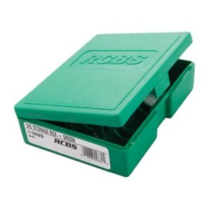 RCBS Die Storage Box Holds 1 3 Dies Green 9889 $11.43