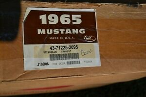 1965 Blue Tmi Mustang Convertible Seat Covers Upholstery Fr Rr Standard
