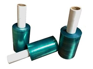6 Rolls Movers Stretch Wrap Tinted Extended Core Down Gauge Film 5 X 1000
