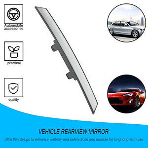 Car Rear View Mirror Universal Panoramic Interior Clip On Rearview Mirrors F6i8