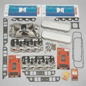 Brodix 9992000 3 Cylinder Head Top End Packages For Chevy New