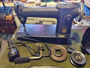 Industrial Commercial Sewing Machine Singer 241 12 Works Sews Leather Etc