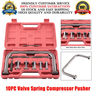 Valve Spring Compressor C Clamp Service Kit Automotive Tool Motorcycle Atv Us