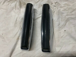 77 79 Ford Pinto Front Bumperettes Bumper Guards Oem 1977 1979