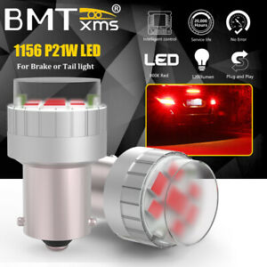 2x 1156 7506 Canbus Led Brake Stop Tail Signal Light Bulbs Lamps For Audi Bmw