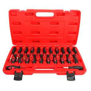23pcs Car Terminal Removal Tool Kit Wire Connector Pin Release Extractor W Case