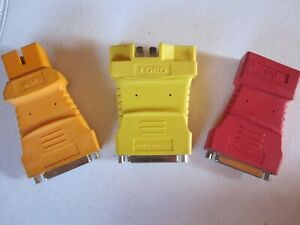 Ford Chrysler Gm Equus Innova Obd 1 Adapters 3 Adapters One Price