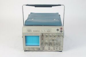 Tektronix 2465bdv 400 Mhz 4 channel Oscilloscope With Power Cable