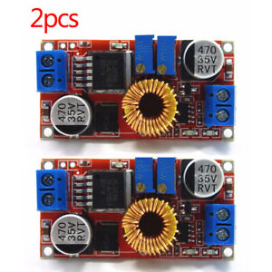 2pcs 5a Dc Constant Current Voltage Regulator Step Down Converter 5v 12v 24v