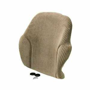 Backrest Cushion Brown Fabric Compatible With John Deere 6420 7520 6120 6320