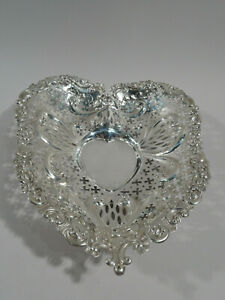 Gorham Bowl A4314 Valentine S Day Heart Dish American Sterling Silver