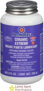 Permatex 24125 Ceramic Extreme Brake Parts Lubricant 8 Oz Pack Of 1