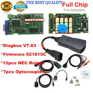 Full Chip Rev C Lexia 3 Diagnostic Interface Peugeot Citroen Diagbox Pp2000 7 83