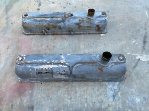 1957 1958 1959 318 Poly Valve Covers Dodge Plymouth Mopar