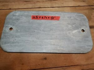 Galvanized Steel Sheet Plate 12 5x6 5x1 8 Monopole Port Entry 2 Hole Cover