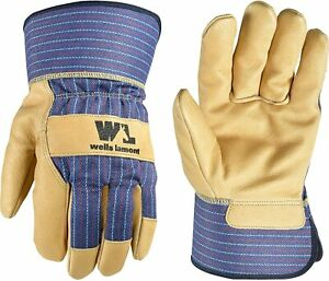 Wells Lamont 3300 Men s Leather Palm Gloves Palomino