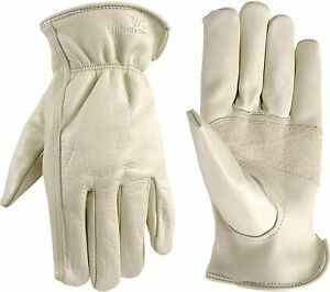 Wells Lamont 1130 Unlined Cowhide Full Leather Driver Gloves