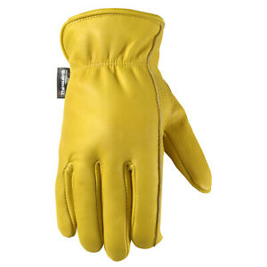 Well Lamont 1108 Men s Cowhide Leather Work Gloves