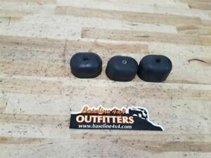 Jeep Tj Wrangler Rear Spare Tire Rubber Bumpers Set Of 3 2003 2004 2006 28205