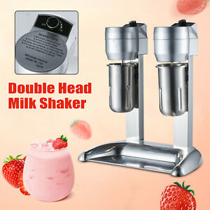 Milkshake Drink Mixer Machine Milk Shake Maker Blender Stand 300w Double Head